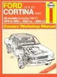 Cortina Mk IV 1.6 & 2.0 Owners Workshop Manual