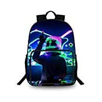 Backpack 3D Printed School Bags Unisex Laptop Backpack for Kids/Students/Adults