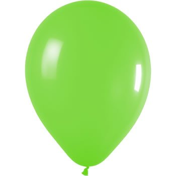 10 Lime Green 12 Inch Latex Balloons by Partyrama (Green Balloons Lime)