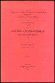 Sinuthii Archimandritae Vita Et Opera Omnia, III. Copt. 2. = Copt. II, 4 par Ew Crum