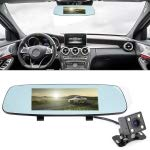 RISHIL WORLD X9S Multi-Functional Smart Car Rear View Mirror Video Record Camera Support TF Card/Motion Detection