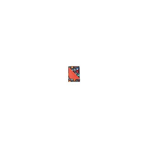 pirulos 64030608–Decke Doubleface, 80x 110, Motiv Monsters, Farbe: orange