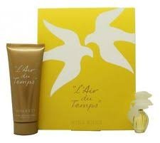 Nina Ricci L'air Du Temps Mini Set - 6 ml Eau De Toilette / 100ml Soft Body Lotion