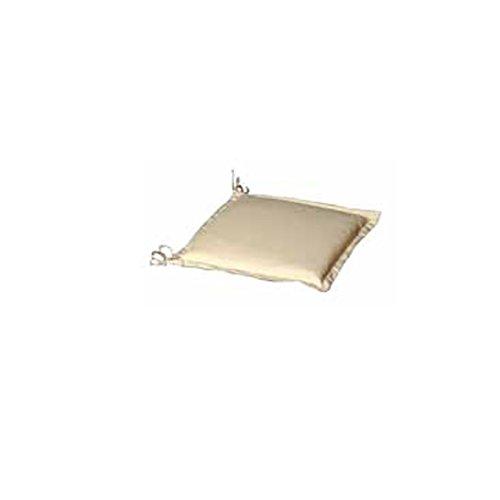 Papillon 8097060 Coussin déhoussable avec rebords pour Chaise 40 x 40 x 8 cm Beige