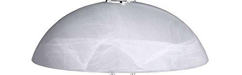 Lampenschirm Bristol 1360 Glas Ersatzglas Schirm Ersatzschirm Lampenglas für Pendellampe Tischlampe Leuchte