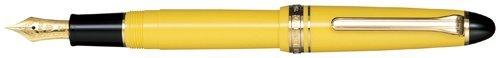 Sailor 1911estándar amarillo GT 14K oro punta fina pluma estilográfica-11-1201-270