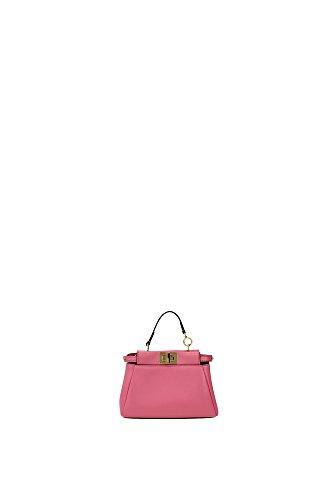 fendi-womens-leather-handbag-shopping-bag-purse-micro-peekaboo-pink