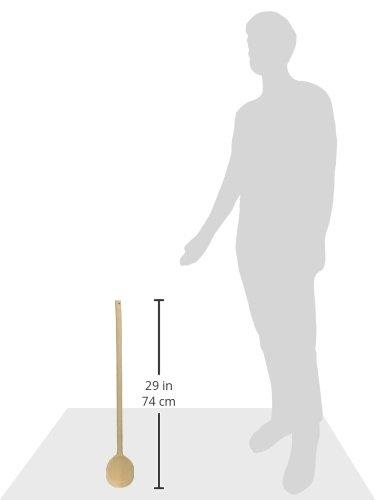 Best Sporting OUTDOOR-KESSELN Kochlöffel , 50-60-70cm, Holz natur, Größe:70 cm