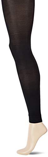 Ulla Popken Große Größen Damen Strumpfhose Strumpfleggings, 60 DEN, (Schwarz 10), XX-Large (Herstellergröße: 52+)
