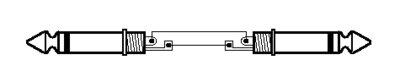 MONACOR MSC 300/SW CABLE PARA ALTAVOCES