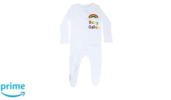 TeddyTs Personalised Irish Baby Ireland Shamrock Sleepsuit /& Hat Set