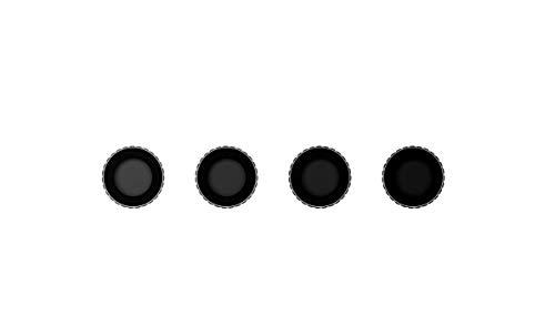DJI Osmo Action - ND-Filterset, Kit mit 4 ND-Filtern für Osmo Action, ND4, ND8, ND16, ND32, Zubehör für Aufnahmen in heller Umgebungen, wasserabweisende Schutzschicht gegen Fingerabdrücke