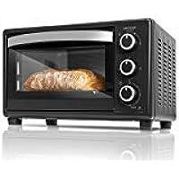 Cecotec Bake&Toast Four électrique à convection 23 l 1500 W 3 modes Température jusqu'à 230 °C et temps jusqu'à 60 minutes avec bac ramasse-miettes 550 Noir