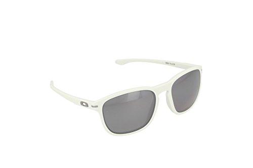 Oakley Herren Sonnenbrille Enduro, Matte Cloud W/Black Irid Pol, One size, OO9223-17