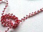 Cinta zigzag con adorno color Rojo