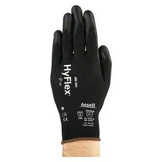Handschuhe SensiLite 48-101 Gr.8 schwarz Nyl.mitPUR EN 388 Kat.II Ansell