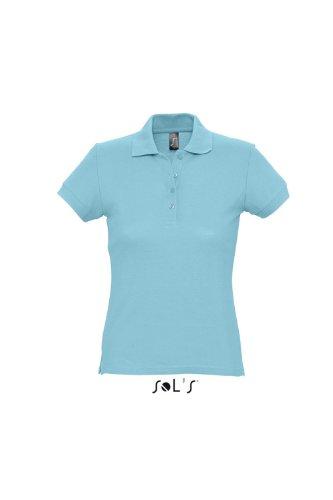 Sols -  Polo  - Maniche a 3/4 - Donna Blu - blue - Atoll Blue