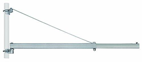 elektro seilwinde 230v Einhell Schwenkarm SA 1200 (Ausladung 110 cm, Schwenkbereich +/- 90°, Durchmesser Rohrmanschette 48 mm)