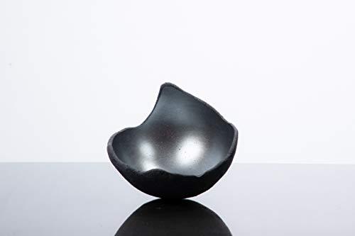 Lichtschale silber - S (15cm) - Beton schwarz - grau - Unikat handmade - Geburtstagsgeschenk - Einzigartiges Geschenk - Deko - Weihnachtsgeschenk