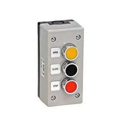 MMTC 3BXT Nema 4 Exterior Three Button Surface Mount Control Station - Surface Mount-button