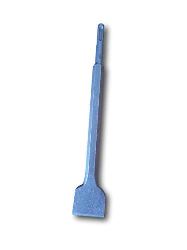 SDS plus hochwertiger Flachmeißel - 250 x 14 x 40mm – universelle Profi Meißel für Bohrhammer, schnelle und einfache Meissel- und Aufbrucharbeiten von Mauerwerk, Beton, Gestein