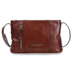 The Bridge Passpartout Donna Mini Bag Sac bandoulière cuir 25 cm braun