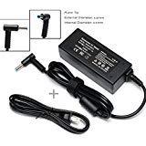 19V 2.31A 45W Ac Adapter/Power Cord Supply for Hp Stream 11 13 14; Hp Pavilion X2 11 13 15; P/N: 719309-001 719309-003 721092-001 741727-001 740015-001 HSTNN-CA40 ADP-45WD B