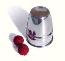 Chop-Cup (Aluminium) - Zaubertrick - Chop Cup Balls