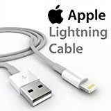 Original Apple USB Lightning Ladekabel Datenkabel MD818ZM/A für iPhone 5 , Iphone 5S , Iphone 5C , Iphone 6 , Iphone 6 Plus iPod Touch 5. Generation , Ipod Touch 7. Generation , Ipad 4 , Ipad Air , Ipad Air 2 , Ipad Mini 2 , Ipad Mini 3 Retina , Ipa