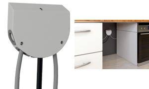 Preisvergleich Produktbild Bachmann Küchen-Anschlussbox 923.001 5,0m Netzanschlussleitung 4016514049417