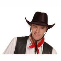 Kostüme Cowboy Desperado (Cowboyhut schwarz für)
