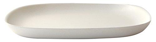 BIOBU by EKOBO 34840 Gusto Petite Assiette, 23 x 23 x 2,5 cm, Blanc