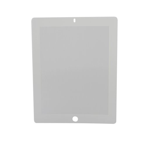 Rolling Ave. Bubee IBBPDAGWH1 Displayschutzfolie für iPad 2 und iPad 3, blasenfrei, Weiß - Plus Sunblock