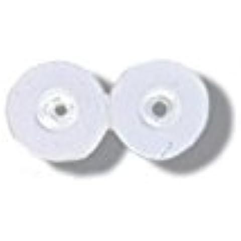 Paillette, 6 mm, colore: bianco Iris
