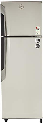 Godrej 330 L 2 Star Frost Free Double Door Refrigerator(R F GF 3302 PTH SLK STL, Sleek Steel)
