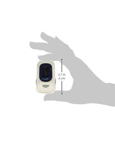 TempIR Pulsoximeter, Premium-Profi. Fingerspitze Handheld tragbarer Digital Blutsauerstoff- und Pulssensor Messgerät mit Alarm. Schnelle Messung für Erwachsene, Kinder, Kleinkinder und im pädiatrischen Gebrauch.