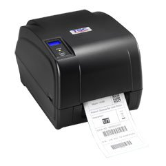 TSC TA210 Gift card printer