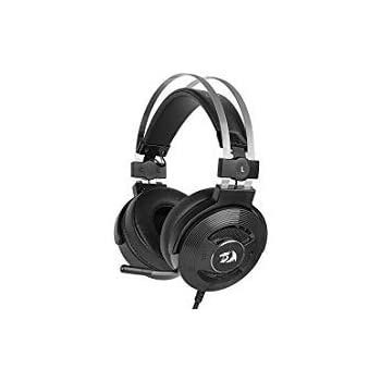 Redragon H991 TRITON Wired Active Noise Canceling Gaming Headset 7.1 Channel Surround Stereo ANC Over Ear Headphone with Mircophone Comfortable Leather Earbuds with USB Port Works for PC Notebook