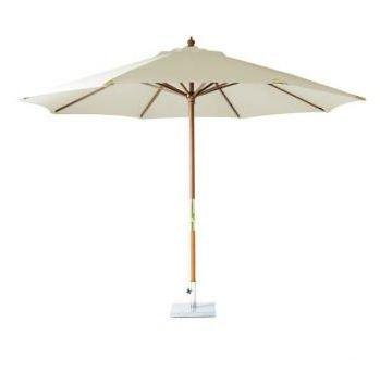Bramblecrest Abdeckung für pwnc2-fsc Holz Kurbel Sonnenschirm, natur, 3,5m