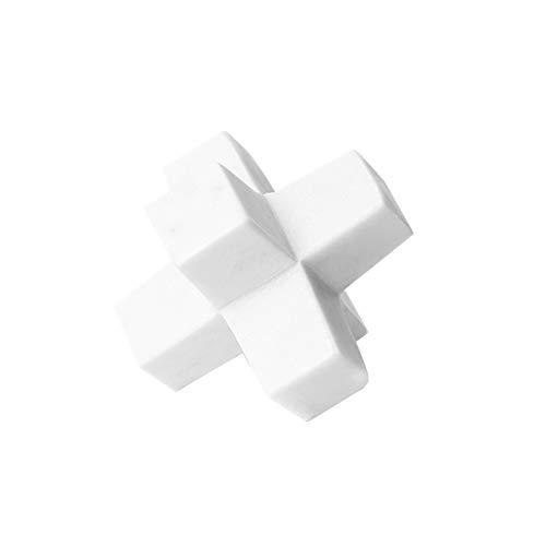 Objets de décoration Décoration Décoration De Salon Maison en Marbre Ornements De Papier De Ville Décoration De La Maison Fait Main Style Chinois Cadeaux Bijoux Blanc