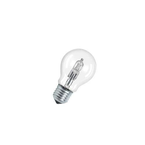 Osram Halogenbirne A Classic Pro Energy Saver 64543A, 46 W, ersetzt herkömmliche 60-W-Birne, Sockel E27, 235 V, herkömmliche Glühbirnenform, klares Licht 1 unidad -