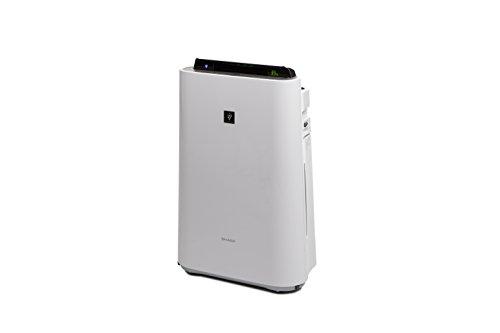 Sharp Home Appliances KCD60EUW - Purificador de aire 396 m³/h, 48 m², 55 dB, 3 L, 2 m, Blanco