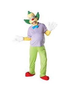 rubies U880657STD kostum krusty der clown simpson tg (Der Simpsons Kostüme Clown Krusty)
