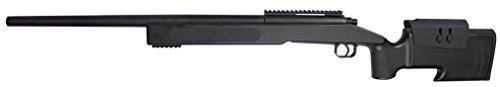 Double Eagle-Airsoft M62 Sniper à Ressort/métal-ABS/Rechargement Manuel (0.5 Joule)