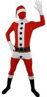 ILOVEFANCYDRESS Weihnachts GANZKÖRPER Anzug =ELF +Santa WEIHNACHTSMANN ELF=ELF -