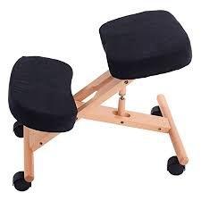Siège assis-genoux ergonomique réglable de Pro 11 Wellbeing - 3 couleurs, beige, 70 x 50 x 45 cm