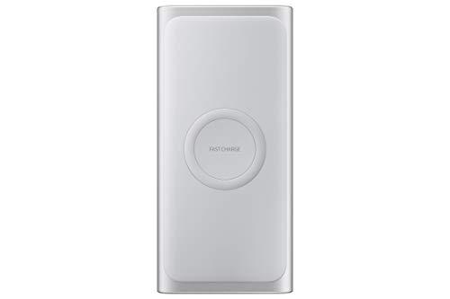 Induktive Powerbank, Silber (Batterie Usb Pack Ladegerät)