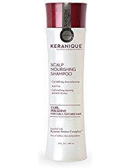 Keranique Curl Preserve - Scalp Nourishing Shampoo For Curly, Textured Hair - Sulfate Free, Paraben Free, Anti Breakage, Mild Formula 8 Fl Oz. (1 Pack)
