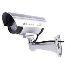dummy cctv security camera  available at amazon for Rs.398