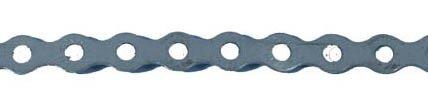 Preisvergleich Produktbild Practilett-Lochband, verzinkt, 5 mm